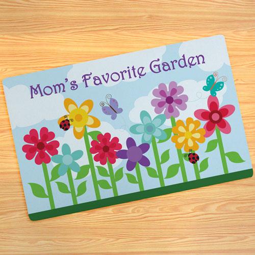 Paillasson personnalisé jardin de maman