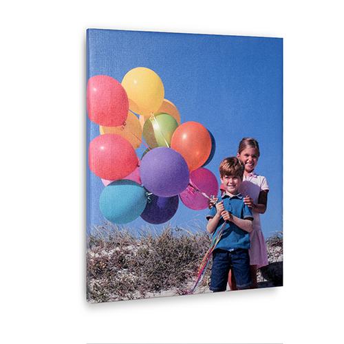 Impression photo sur toile conception personnalisée 40,64 x 50,8 cm