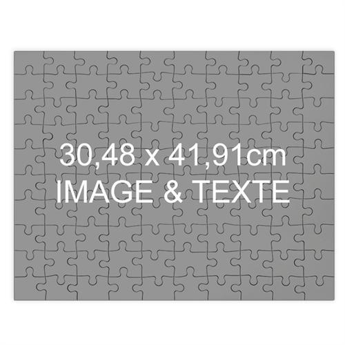 Puzzle photo personnalisé magnétique 30,48 x 41,91 cm