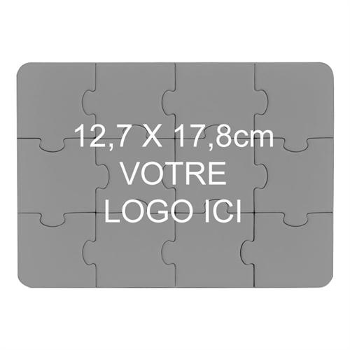 Invitation puzzle imprimée personnalisée 12,7 x 17,78 cm
