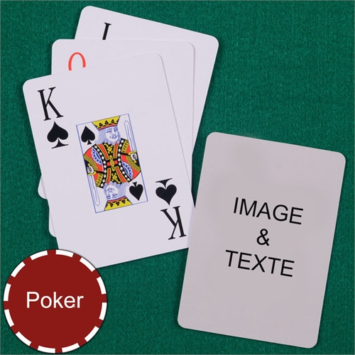 Cartes à jouer poker index jumbo