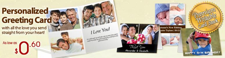Cartes de voeux photo personnalisées